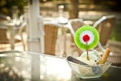 cream льдед напольный стоковое фото rf