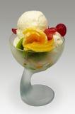 cream льдед плодоовощ Стоковые Фото