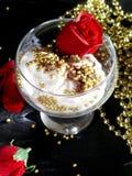 cream льдед Стоковые Фотографии RF