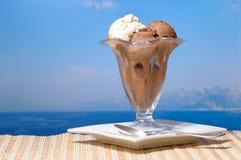 cream льдед стоковое фото