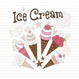 cream льдед Стоковая Фотография RF