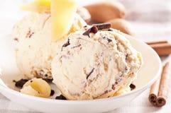 cream марципан льда стоковая фотография