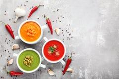 cream овощ супа Стоковые Изображения RF