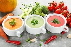 cream овощ супа Стоковое Фото
