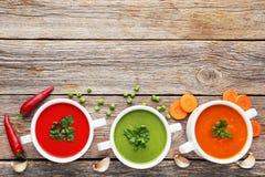 cream овощ супа Стоковое фото RF