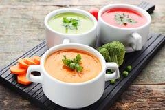 cream овощ супа Стоковое Изображение