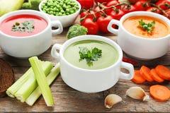 cream овощ супа Стоковые Изображения