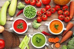 cream овощ супа Стоковая Фотография