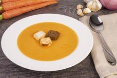 cream овощ супа Стоковые Фото