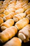 Cream печенья рожочка Стоковое Фото