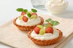 cream пироги Стоковое Изображение