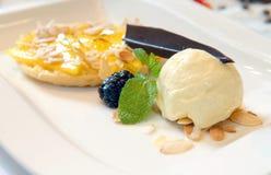 cream пирог мангоа льда Стоковая Фотография RF