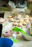 cream пирожня Стоковое фото RF