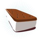 cream сандвич льда Стоковое Фото