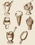 cream сбор винограда льда Стоковая Фотография