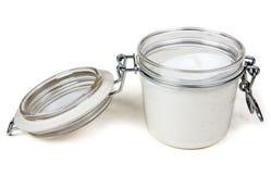 cream сталь замка опарника Стоковые Фото