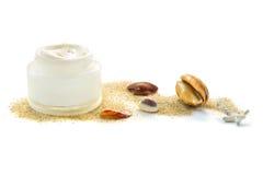 cream сторона moisturizing Стоковая Фотография