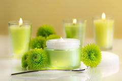 cream сторона moisturizing Стоковые Изображения