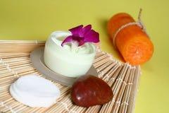 cream сторона moisturizing Стоковое Изображение RF