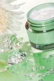 cream сторона moisturizing Стоковые Фото