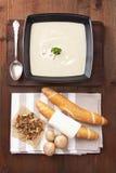 cream суп гриба Стоковые Фотографии RF