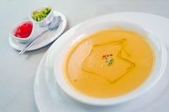 Cream суп от ceps Стоковая Фотография RF