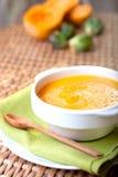 cream суп тыквы Стоковое Изображение