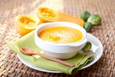 cream суп тыквы Стоковое Изображение RF