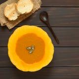 cream суп тыквы Стоковые Фото