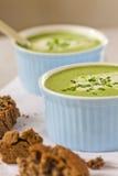 Cream суп шпината Стоковые Изображения RF