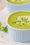 Cream суп шпината Стоковые Фото