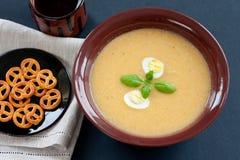Cream суп Стоковая Фотография