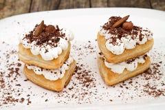cream слойка печенья Стоковые Изображения RF