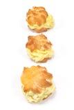 Cream слойки Стоковые Фотографии RF