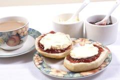 Cream чай Стоковое Фото