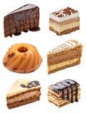 Cream шоколадный торт Стоковые Изображения