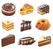 Cream шоколадный торт Стоковые Фотографии RF