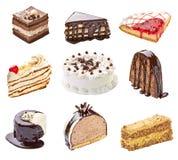 Cream шоколадный торт Стоковые Изображения RF