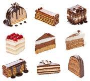 Cream шоколадный торт Стоковое Изображение RF