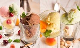 cream льдед вкусный стоковые фото