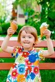 cream льдед yummy стоковое изображение rf