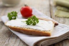 домодельное сыра cream Стоковые Фото