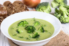 Cream суп от брокколи Стоковые Фото