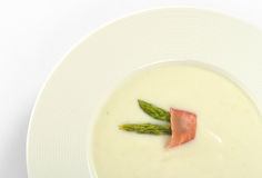 Cream of Asparagus Royalty Free Stock Photography