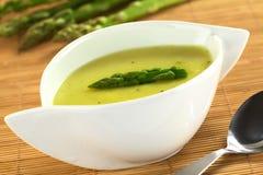Cream of Asparagus Royalty Free Stock Photo