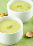 Cream Asparagus Soup Royalty Free Stock Photography