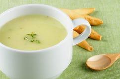 Cream Asparagus Soup Royalty Free Stock Photos