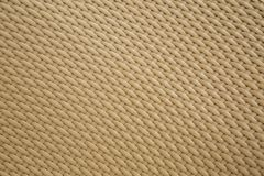 Cream background texture of basketwork. Royalty Free Stock Photo