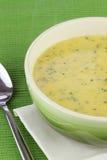 Cream of Broccoli Soup Stock Photography