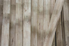 CREAM BROWN BARN WOOD (Wallnut Color) Royalty Free Stock Photography